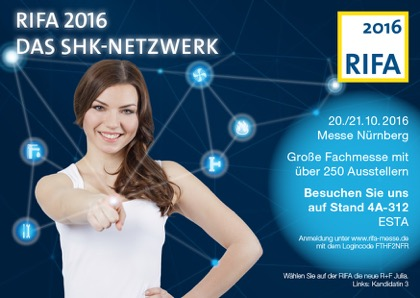 The RIFA 2016 Trade Fair – We'll be there!